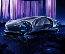 Также на выставке будет представлен концепт Mercedes Vision AVTR, впервые показанный на выставке бытовой электроники 2020. В отличие от большинства концепт-каров, Vision AVTR не демонстрирует будущую серийную модель и на самом деле был вдохновлен фил