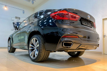 Обвес M-Perfromance (карбон) - установка на BMW X6 F16