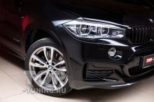 Тюнинг BMW X6 F16 - установка обвеса