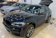 ТОНИРОВКА СТЕКОЛ НА BMW X6 F16 - ЗАДНЯЯ ПОЛУСФЕРА 5%