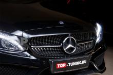 Версия Diamond Black Edition для Mercedes-Benz C w205