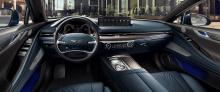2021 Genesis G80 дебютировал ранее в этом году с острым стилем и двумя двигателями на выбор включая стандартный 2,5-литровый турбированный рядный четырехцилиндровый с 304 лошадиными силами и 421 Нм крутящего момента или 3,5-литровый турбо V6 мощность