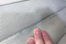 Пластины водительского кресла (потертости на коже)