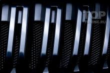 103423 Сетка в передний бампер и черная решетка радиатора для Skoda Kodiaq