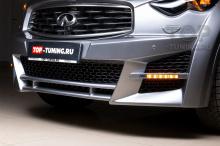 Пластиковая тюнинг сетка GT-Line в передний бампер