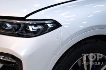 BMW X7 через полгода после покупки - первичный осмотр, до начала работ по защите кузова и салона