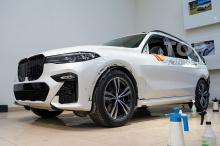 Защита кузова BMW X5, X6, X7 премиальной бронирующей пленкой - Москва - Топ Тюнинг