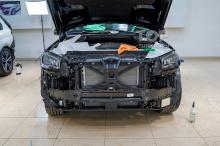 Оклейка пленкой нового Mercedes-Benz GLS X167 - подготовка