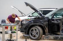 Оклейка пленкой нового Mercedes-Benz GLS X167
