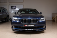 103704 Установка накладки на передний бампер BMW 7 F01