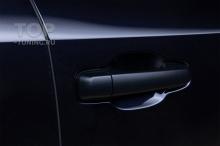 103746 Антихром для Land Cruiser 200 - монтаж карбонового пакета