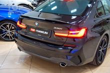 Новый тюнинг обвес для BMW 3 G20 - элерон переднего бампера + лип спойлер