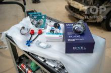 103888 Доработка оптики в Mazda CX-7