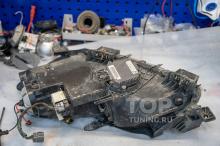Перед вскрытием оптики 103888 Доработка оптики в Mazda CX-7 (замена линз) Bi Xenon