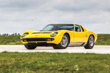 Самым дорогим проданным автомобилем была Ferrari 225 S Berlinetta за почти 3 миллиона долларов.