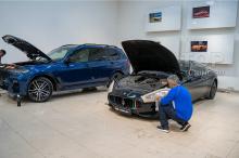 103945 Полировка и защита оптики Maserati GranTurismo S