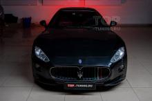 Детейлинг Maserati GranTurismo S - работа выполнена в Топ Тюнинг Москва