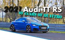 В ознаменование 40-летия легендарной полноприводной системы Audi Quattro Audi представляет новую специальную серию TT RS под названием Audi TT RS 40 Years of Quattro. Примечательно, что производство будет ограничено всего 40 экземплярами, так что они