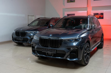 104006 Оклейка пленкой, бронирование боковых стекол и Shadow Line для BMW X7