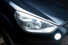 104018 Установка Bi LED линз вместо галогена в Ford S-Max 1