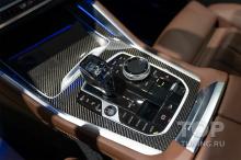 Защитная пленка на консоль (рояльный лак) в BMW X6