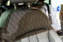 Керамика кожи. Обработка пола в салоне и багажнике. Детейлинг салона BMW