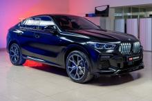 Тюнинг BMW X6 G06 - оригинальный сплиттер на передний бампер - Обвес Renegade