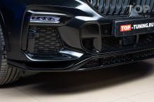 Тюнинг BMW X6 G06 - накладка на передний бампер - Обвес Renegade