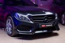 104062 Обвес и электронный выхлоп для Mercedes C class w205