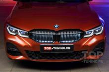104128 Оригинальная подсветка в решетку радиатора в BMW 3 G20