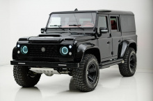 Однако, если вы не можете дождаться его прибытия, Ares Design создает новую партию уникальных внедорожников V8 на основе старого Defender. Названный Land Rover Defender Spec. 1.2, внедорожник ограниченной серии является преемником Defender Ultra V8 о