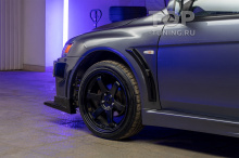 Широкие передние крылья Тюнинг Лансер 10 - Обвес GT400  (профессиональная подгонка)