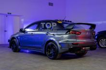 Задний бампер с диффузором - Тюнинг Лансер 10 - Обвес GT400  (профессиональная подгонка)