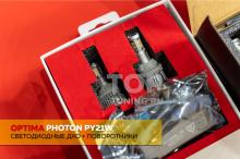 ДХО + поворотники в штатное место - Компоненты для тюнинга оптики Mitsubishi Pajero 4