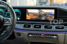 Видео в дороге на штатной мультимедиа MBUX NTG 6.0 в Mercedes GLE / GLS