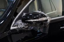 Оклейка боковых зеркал от сколов на Мерседес Бенц ГЛЕ 167 (Москва, Топ Тюнинг)