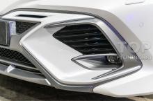 Маска центральной части переднего бампера Тойота Камри 70 - тюнинг обвес GT. Обзор.