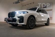 104219 Зона риска + черная крыша на BMW X7