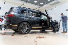 Полировка кузова + креамика на BMW X7