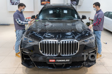 Пленка на капот BMW X7