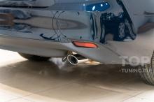 Стандартная выхлопная система, для мотора 2,5 литра - Тюнинг Тойота Камри 70
