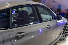 Стекла BMW 6 GT LCI G32 перед началом работ. Новый автомобиль. Цвет Серый Алвит.