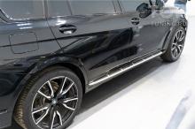Оригинальные пороги ступени для BMW X7 G07