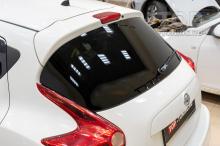 Окраска и установка спойлера GT ABS в Top Tuning Москва