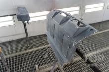 Диффузор переднего бампера для Паджеро 4 (Ларте Дизайн)