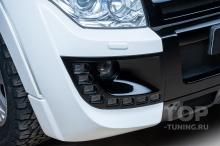 105675 Обвес Larte для Mitsubishi Pajero 4 - Установка в Топ Тюнинг