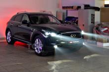 Full Bi LED оптика в Инфинити QX70; MTF Night Assistant