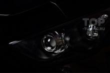 Черные фары для Инфинити QX70 s51 (FX2)