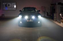 Полностью светодиодные фары в Инфинити QX70 s51 (F2)