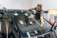 Полировка и керамика на кузов Mercedes В класса, 447 XL